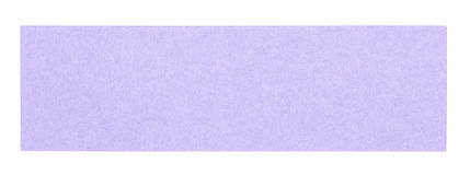 Flat violet rectangular sticky note. Isolated on white background Royalty Free Stock Photos