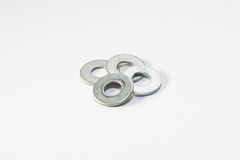 Flat Washer and Spring Washer. For industry and manufacturing Royalty Free Stock Images
