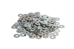 Flat Washers Stock Photo