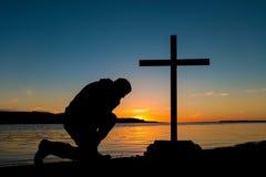 Flat Waters Prayers Royalty Free Stock Image