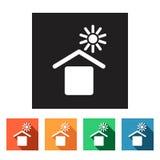 Flat web icons (packing symbol),  Royalty Free Stock Photography