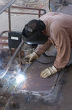 Flat weld Stock Images