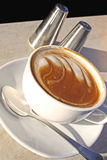 Flat White 1 Stock Photography