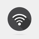 Flat wireless icon Stock Photography