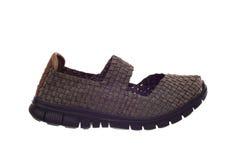 Flat woman shoe Stock Photos