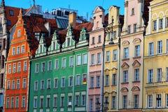 Flat in Wroclaw, Polen royalty-vrije stock foto's