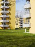 Flataanpassing in Freiburg, Duitsland stock foto