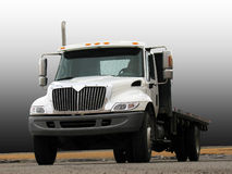 flatbed ciężarówka Fotografia Stock