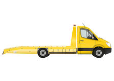 Flatbed recovery vehicle Stock Image