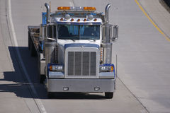 Flatbed Semi Truck Royalty Free Stock Image