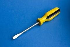 flatblade螺丝刀 免版税图库摄影