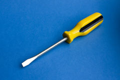 flatblade κατσαβίδι Στοκ φωτογραφία με δικαίωμα ελεύθερης χρήσης