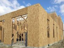 Flatbouw in gemeenschap Stock Foto