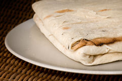 Flatbread étnico Fotos de Stock Royalty Free