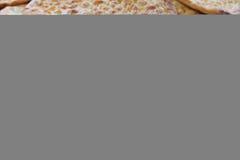 Flatbread cuit au four frais Photographie stock