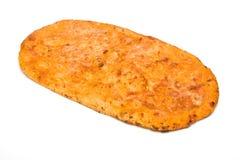 Flatbread de queijo Imagens de Stock