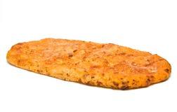 Flatbread di formaggio Immagine Stock