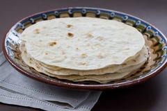 Flatbread indiano tradizionale fotografia stock