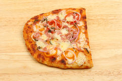 Flatbread pizza Royalty Free Stock Photography
