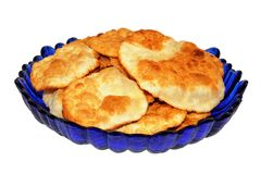 Flatbread of unleavened dough Royalty Free Stock Photos