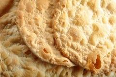 Flatbreads friáveis livres do vegetariano do fermento, close-up imagem de stock royalty free