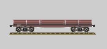 flatcar Royaltyfri Bild