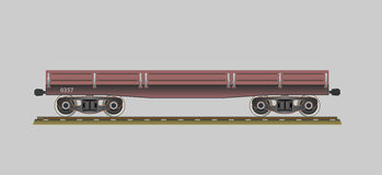 Flatcar Royalty Free Stock Image