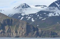 Flateyjarskagi halvö Island Arkivbild