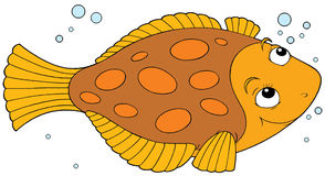 Flatfish vector illustration