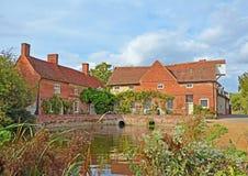 Flatford Mühle Lizenzfreies Stockfoto