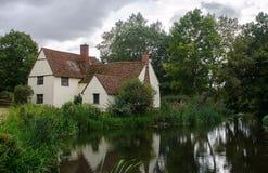 Εξοχικό σπίτι Flatford της Willy Lott Στοκ εικόνες με δικαίωμα ελεύθερης χρήσης