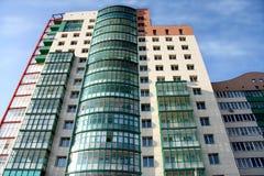 Flatgebouw. stock foto