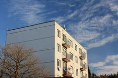 Flatgebouw Stock Afbeelding