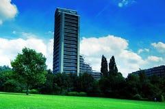 Flatgebouw Royalty-vrije Stock Afbeelding