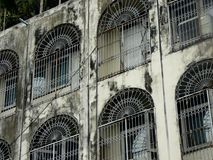 Flatgebouw in Bangkok royalty-vrije stock afbeeldingen