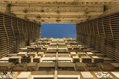 Flatgebouw Girà ³ n Havana Royalty-vrije Stock Afbeeldingen
