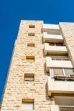 Flatgebouw in Israël Stock Foto's