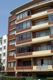 Flatgebouw in Johannesburg Stock Foto