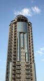 Flatgebouw met koopflats Royalty-vrije Stock Fotografie