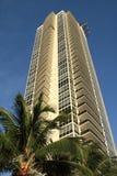 Flatgebouw in Miami Stock Afbeelding