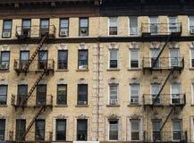 Flatgebouw NYC Royalty-vrije Stock Afbeelding