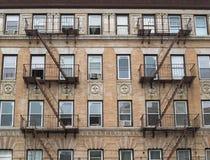 Flatgebouw NYC Stock Foto's