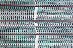 Flatgebouw patroon Stock Afbeeldingen