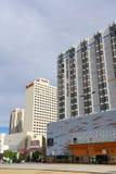 Flatgebouw in Reno, Nevada stock foto's
