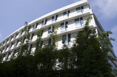 Flatgebouw in Santa Monica California royalty-vrije stock foto's