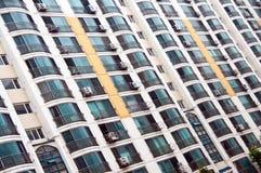 Flatgebouw in Zuid-Korea Stock Foto