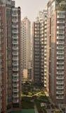 Flatgebouwen Guizhou, China Royalty-vrije Stock Afbeeldingen
