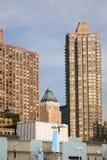 Flatgebouwen in Manhattan Royalty-vrije Stock Afbeelding