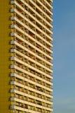Flatgebouwvoorzijde Royalty-vrije Stock Foto
