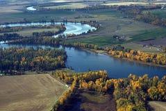 flathead ποταμός πτώσης Στοκ φωτογραφία με δικαίωμα ελεύθερης χρήσης